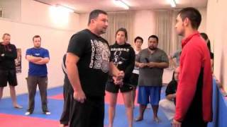 getlinkyoutube.com-The Reality Of Knife Attack - Deane Lawler @ the A.I.M Academy 2011