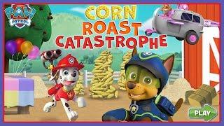 getlinkyoutube.com-Paw Patrol Full Gamepisodes English! Paw Patrol Corn Roast Catastrophe!