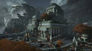 Gears of War 4 - Hotel Multiplayer Map Flythrough