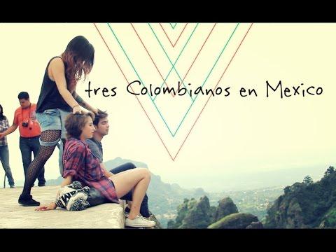 TRES COLOMBIANOS EN MEXICO: Juan Jaramillo, Juana Martines y Carolina Jaramillo