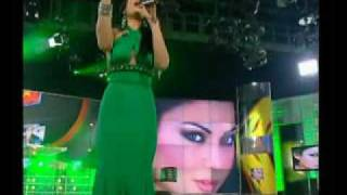 "getlinkyoutube.com-Haifa Wehbe sings ""Ragab"" on Hala show رجب"