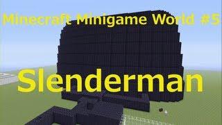 getlinkyoutube.com-Minecraft Xbox 360 Edition Minigame World #5 - Slenderman