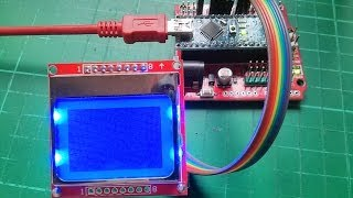getlinkyoutube.com-Arduino Nokia 5110 LCD Tutorial #2 - Getting Text on the Display