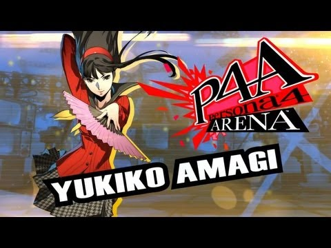 Persona 4 Arena Move Video: Yukiko Amagi