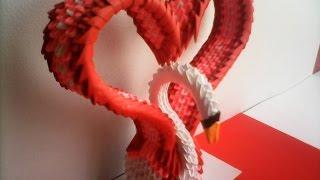 getlinkyoutube.com-CISNE CORAZÓN DE ORIGAMI 3D