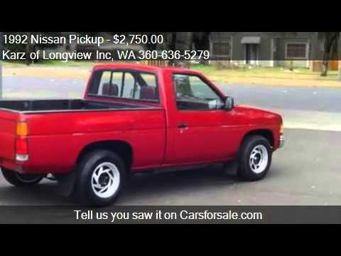 1992 Nissan Pickup Problems Online Manuals And Repair