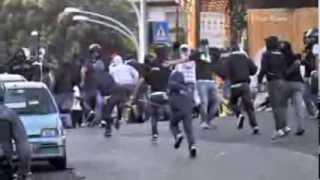 getlinkyoutube.com-AS Roma vs SS Lazio - Serie A (22/9/2013) - Lazio ultras