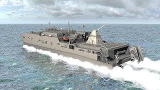 getlinkyoutube.com-BAE Systems - Electromagnetic Railgun Test Firing Hyper Velocity Rounds + JHSV Concept [1080p]