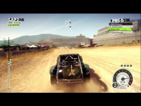 Dirt 2 Gameplay XBOX 360 720p HD
