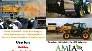 Bale BOSS 1 Front Mounted Side Firing Square Bale Processor AMIA Ltd 01392 580 987