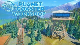 getlinkyoutube.com-Best of Planet Coaster | FireWatch, Magical Mountain, Jungle Drift | Best Workshop Creation