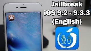 getlinkyoutube.com-How to Jailbreak iOS 9.3.3 / 9.3.2 / 9.3.1 Using English Pangu on iPhone, iPod touch or iPad