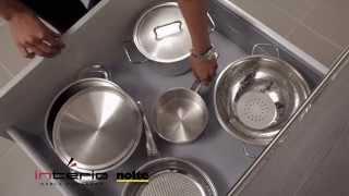 Szuflady – głębokość 75 cm - meble kuchenne Nolte