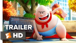 Captain Underpants: The First Epic Movie Trailer #1 (2017) | Movieclips Trailers
