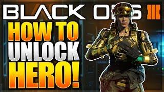 "getlinkyoutube.com-Black Ops 3 ""Hero Gear"" Gameplay!! How To UNLOCK Specialist Hero Armour (BO3 Classified Specialist)"
