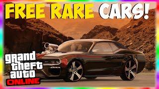 "GTA 5 Rare & Secret Cars: 3 FREE Customized Muscle Cars Spawn Location Online! ""GTA 5 Rare Cars"""