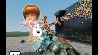 getlinkyoutube.com-【阿飄日常】Garry's mod 組裝一個大波妹隱形轟炸機。