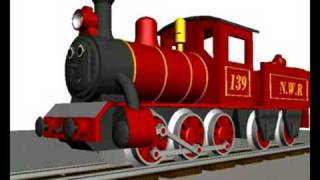 getlinkyoutube.com-Animated 3D Steam Train test