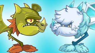 """getlinkyoutube.com-Plants Vs Zombies 2 El Fuego y el Hielo """"Boca De Dragón"""" Y """"Bocadragrón Gélido"""""""
