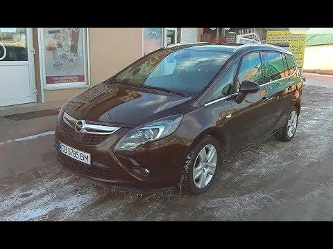 Opel Zafira B Tourer Cosmo 2014 г. 16 500 $ 7 мест Осмотр авто.