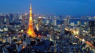 Tokyo City Japan Lifestyle At Night   Tokyo Japanese Tour Video