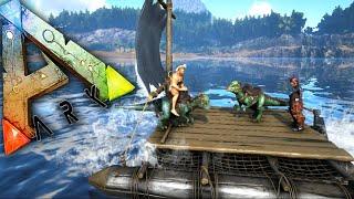getlinkyoutube.com-Ark Survival Evolved Ep18 - Rafts, Pachy Taming, Platform Saddles! - Ark Updates Gameplay