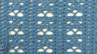 getlinkyoutube.com-Crochet: Punto Combinado # 17