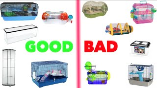 getlinkyoutube.com-Good & Bad Hamster Cages