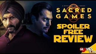 SACRED GAMES NETFLIX | Spoiler Free Review