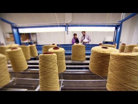 UK wool industry spinning back into business
