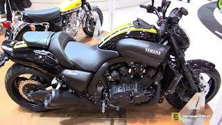 getlinkyoutube.com-2016 Yamaha VMax 60th Anniversary - Walkaround - 2015 EICMA Milan