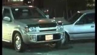 SURREY POLICE CAR CRASH 3 CARS
