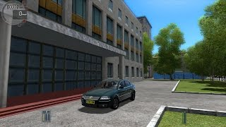 getlinkyoutube.com-City Car Driving 1.4.1 VW Passat B5 [G27]