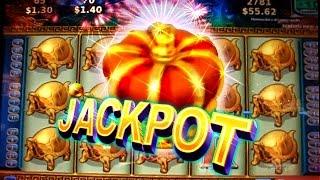 getlinkyoutube.com-JACKPOT !!! & PLAYS  on CHINA MYSTERY - 2c Konami Video Slots