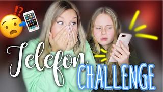 getlinkyoutube.com-TELEFON Challenge 😳 mit meiner Schwester Lena | Dagi Bee