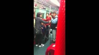 [Backup]火車內罵戰 香港人大戰大陸人(全片)
