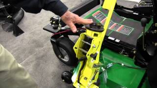 Z Trimmer Mower Mounted Grass Trimmer from PECO: By John Young of the Weekend Handyman