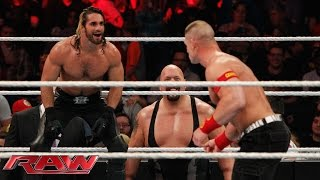 getlinkyoutube.com-John Cena vs. Seth Rollins - Lumberjack Match: Raw, January 12, 2015