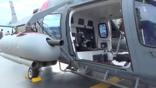 Philippine Navy Newly Acquired Brand New AW-109 Power Helicopter