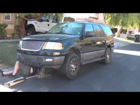 Replace starter 2004 Ford Expedition