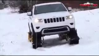 Amazing Snow Tracks for Cars