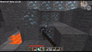 getlinkyoutube.com-Minecraft: Amazing Diamond Map Seed