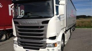 Scania R450 Euro 6 TEST DRIVE