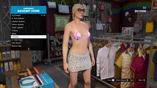 getlinkyoutube.com-GTA 5 Online - Become Naked in GTA Online, Naked Character Glitch