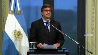 Aníbal Fernández será el nuevo Jefe de Gabinete