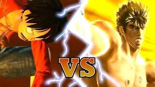 getlinkyoutube.com-KENSHIRO VS LUFFY