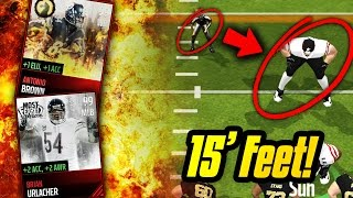 getlinkyoutube.com-15 FEET TALL PLAYERS! FULL MOST FEARED LINEUP! Madden Mobile Gameplay