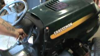getlinkyoutube.com-Craftsman LT1000-The Bane of My Existence