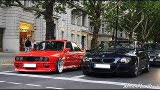 getlinkyoutube.com-BMW M6 vs M3 E30 - LAUNCH CONTROL - CRAZY SOUND WITH CUSTOM PIPES