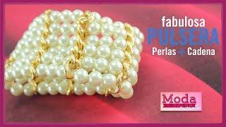 getlinkyoutube.com-Cómo hacer una pulsera perla 6 vueltas con Adri Muñoz Kit 23342